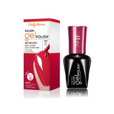 buy sally hansen salon gel polish gel nail color at well