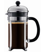 Bodum Chambord French Press Coffee Maker Chrome