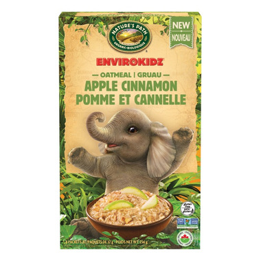 Nature\'s Path Envirokidz Apple Cinnamon Hot Oatmeal