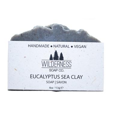 Wilderness Soap Co. Eucalyptus Sea Clay Soap
