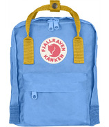 Fjallraven Kanken Mini Backpack Blue & Yellow