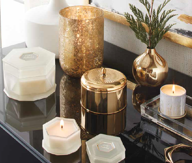 Buy Illume Gilded Amberleaf Tin Soy Candle At Well Ca