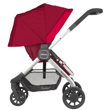 Diono Quantum Multi-Mode Stroller Travel System Red