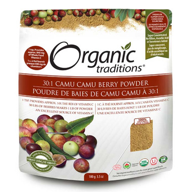 Organic Traditions Camu Camu Berry Powder