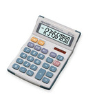 Sharp 10 Digit Twin Power Semi-Desktop Calculator