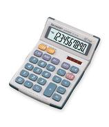 Sharp 10 Digit Twin Power Semi-Desktop Calculator