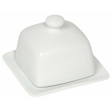 Now Designs Butter Dish Square White