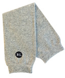 BabyLegs Organic Leg Warmers Heather Light Grey