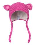 Kombi The Baby Animal Infant Hat Rose Violet