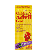 Advil Children's Cold Suspension Grape