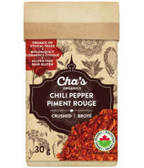 Cha's Organics Chili Pepper Crushed