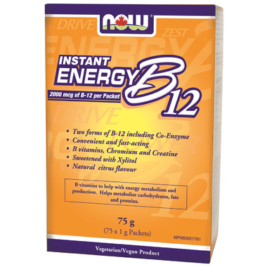 NOW Foods B12 Instant Energy Packets