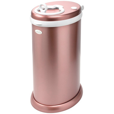 Ubbi Stainless Steel Diaper Pail Rose Gold