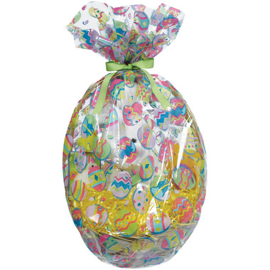 Buy Painted Eggs Easter Basket Cello Wrap At Well Ca