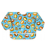 Bumkins Sleeved Bib Owls