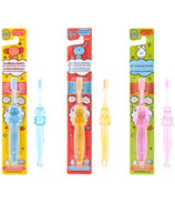 TheraWise Assorted Crystal Animal Children's Antibacterial Toothbrush
