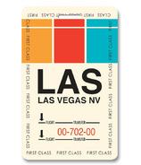 Smitten Kitten Las Vegas Luggage Tag