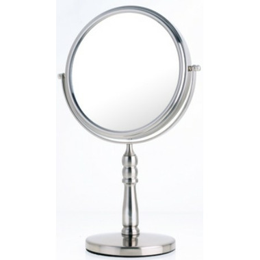 Danielle Creations Satin Nickel Vanity Mirror