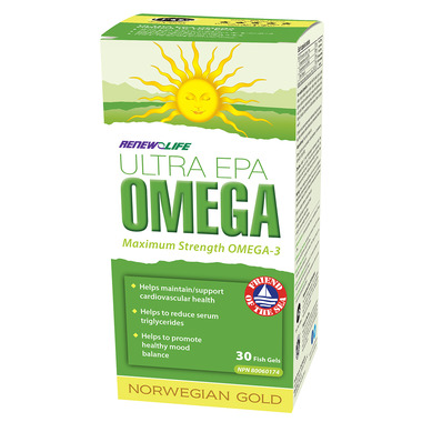 Renew Life Norwegian Gold Ultra EPA