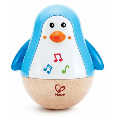 Hape Toys Penguin Musical Wobbler