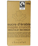Galerie au Chocolat Maple Crunch Chocolate Bar