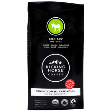 Kicking Horse Coffee Kick Ass Ground Coffee
