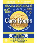 Wonderfully Raw Lemon Pie Coco-Roons