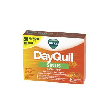 Buy Vicks Dayquil Sinus Liquicaps At Well Ca Free