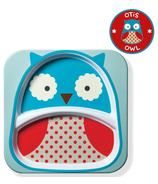 Skip Hop Zoo Tableware Melamine Plate Owl Design