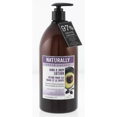 Naturally Upper Canada Hand & Body Lotion