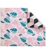 Play with Pieces Pink Leaf & Clover Play Mat