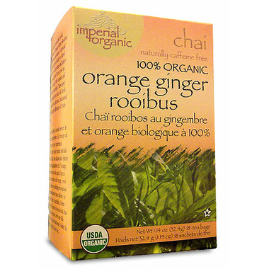 Uncle Lee\'s Orange Ginger Rooibos Chai Tea