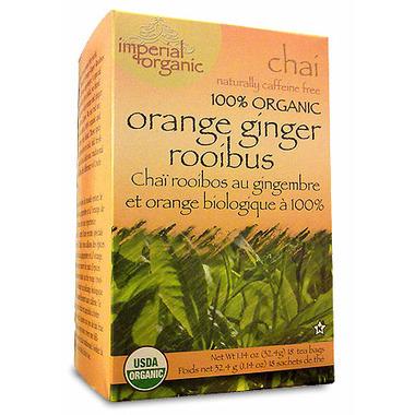 Uncle Lee\'s Orange Ginger Rooibos Chai Tea