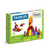 Tileblox Rainbow 42 Piece Set