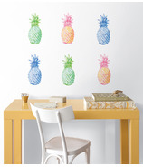WallPops Pop Pineapples Wall Art Kit