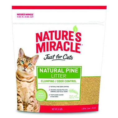 Nature\'s Miracle Odour Control Natural Pine Cat Litter