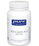 Pure Encapsulations Alpha Lipoic Acid 600 mg