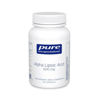 Pure Encapsulations Alpha Lipoic Acid 600 mg