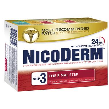 Nicoderm Clear Step 3 Nicotine Patches