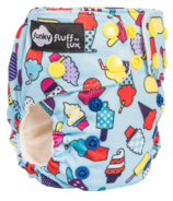 Funky Fluff Newborn Diaper System Ice Ice Baby