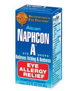 Alcon Naphcon-A Allergy Relief Eye Drops
