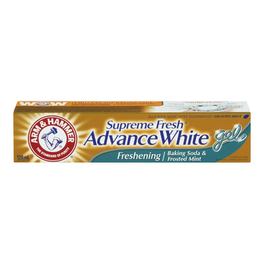 Arm & Hammer Supreme Fresh Advance White Freshening Gel