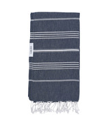 Lualoha Turkish Towel Classic Navy