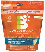 Boulder Clean Natural Laundry Detergent Packs
