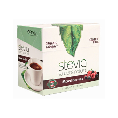 Stevia International Mixed Berry Stevia Packets