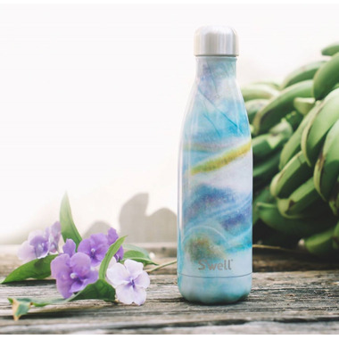 S\'well Elements Collection Stainless Steel Water Bottle Mother of Pearl