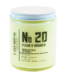 T. Lees Soap Co. No. 20 Fleur d'Oranger Soy Candle