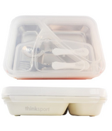 Thinksport GO2 Travel Food Container White