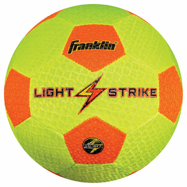 Franklin Sports Light Strike Soccer Ball
