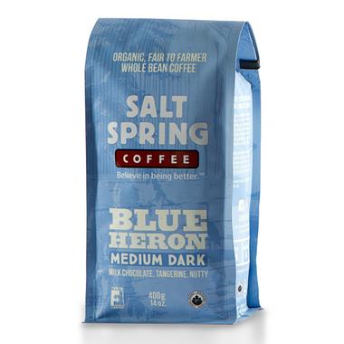 Salt Spring Coffee Blue Heron Medium Dark Roast